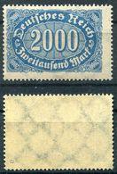 Deutsches Reich Michel-Nr. 253a Postfrisch - Geprüft - Ungebraucht
