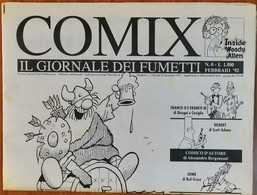 N. 0 - Febbraio 1992 - COMIX IL GIORNALE DEI FUMETTI - Panini Editore - Humor