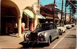 Florida Palm Beach Worth Avenue Rolls Royce 1969 - Palm Beach