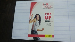 India-airtel Presents-(72)(rs.108)(new Delhi)(0376394216902317)(look Out Side)used Card+1 Card Prepiad Free - Indien