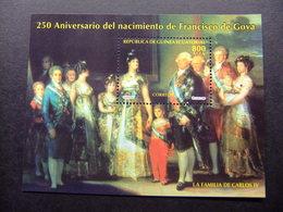 Guinea Ecuatorial 1995 250 Aniversario Del Nacimiento Del Pintor Goya Edifil 217 ** MNH - Guinea Ecuatorial