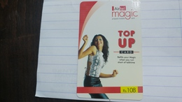 India-airtel Presents-(72a)(rs.108)(new Delhi)(0346381937688046)(look Out Side)used Card+1 Card Prepiad Free - India