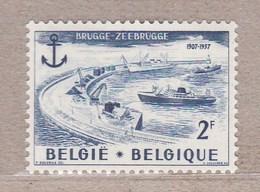 1957 Nr 1019* Postfris Met Scharnier. Brugge-Zeebrugge. - Belgique
