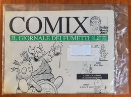 N. 1 - Marzo 1992 - COMIX IL GIORNALE DEI FUMETTI - RARO NUOVO - Panini Editore - Humor