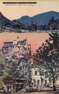 KLAUSEN-CHIUSA-BOZEN-BOLZANO-ALBERGO=KRONE=-CARTOLINA ANNO 1920-1930 - Bolzano