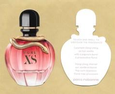 Carte Parfumée Replica Perfume Card PURE XS * PACO RABANNE * R/V - Cartes Parfumées