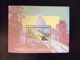 Guinea Ecuatorial 1995 Ferrocarriles Del Mundo Edifil 209 ** MNH - Guinea Ecuatorial