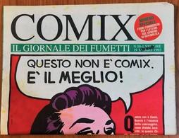 N. 00 - Marzo 1993 - COMIX IL GIORNALE DEI FUMETTI -  Numero Speciale - Panini Editore - Humor