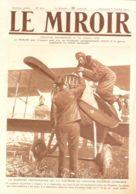 LE MIROIR-202-GUERRE 1917-GUYNEMER-CORINTHE-LENS-AEROSTAT/SAUCISSE(photos Pages) - Newspapers