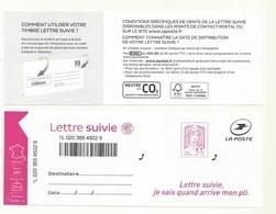 ADHESIF CIAPPA LETTRE SUIVIE NOUVEAU MODELE - France