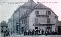 BELFORT Restaurant Du Bœuf Le Fourneau Rue Denfert Rochereau Et Rue De L'Abattoir Propriétaire M. Pfohl - Belfort - Ville