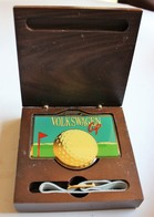 Rare Coffret Volkswagen Cup 1992 Golf D'Ammerschwihr Trophée ? Récompense ? - Apparel, Souvenirs & Other