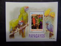 Guinea Ecuatorial 2000 PAPAGAYOS PERIQUITO REAL De AMBONA Edifil 262 ** MNH - Guinea Ecuatorial
