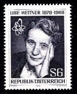 AUTRICHE 1978  Mi.nr.: 1588 Geburtstag Von Lise Meitner  Neuf Sans Charniere-MNH-Postfris - 1945-.... 2ème République