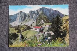 BERGGASTHOF KAMPENWANDBAHN Mit Scheibenwand Und Bergstation Der Kampenwand-Seilbahn - Chiemgauer Alpen