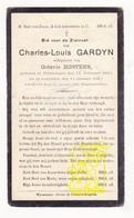 DP Charles L. Gardyn ° Wijtschaete Heuvelland 1843 † 1923 X Octavie Hostens - Images Religieuses