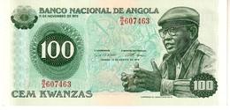 Angola P.115  100 Escudos 1979 Unc - Angola