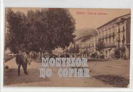 Graus, Calle Salamero, Postal Antigua - Huesca