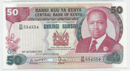 Kenya P.22 50 Shillings 1986 Unc - Kenia
