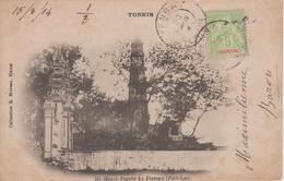 CPA Précurseur Tonkin - Hanoi - Pagode Du Pinceau (Petit-Lac) - Viêt-Nam