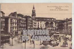 Vitoira, Plaza De La Virgen Blanca, Postal Antigua - Álava (Vitoria)