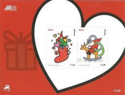 Portugal 2009 Christmas  Souvenir Sheet MNH - Christmas