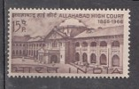 INDIA, 1966,  Centenary  Allahabad High Court Building, Law, Architecture, MNH, (**) - India