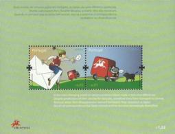 Portugal 2008 Europa CEPT Mail Souvenir Sheet Of 2 MNH - 2008