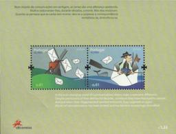 Portugal Azores Açores 2008 Europa CEPT Mail - Souvenir Sheet Of 2 MNH - 2008
