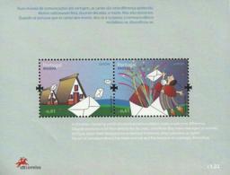 Portugal Madeira 2008 Europa CEPT Mail - Souvenir Sheet Of 2 MNH - 2008