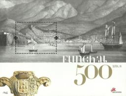 Portugal Madeira 2008 500th Anniv Funchal   - Souvenir Sheet Of 1 MNH - Feste