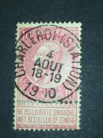 COB N ° 58 Oblitération Charleroi (Station) 1900 - 1893-1900 Fine Barbe