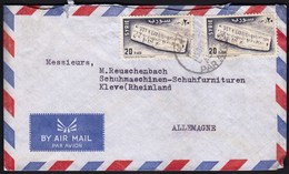 Syria 1956 / International Museum Week, UNESCO, Ras Shamra, Ugarit, 20 P / Ugaritic Abecedarium  / Air Mail - Arqueología