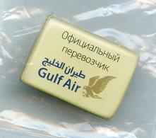 GULF AIR Avion Aviation Compagnie Aerienne Airlines Pin - Luftfahrt