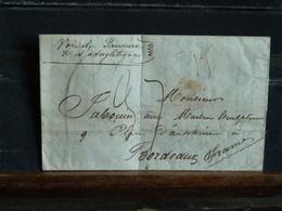 D1 LAC De Santiago Du Chili - 1848 - Voie De Panama Et D'Angleterre - Schiffspost