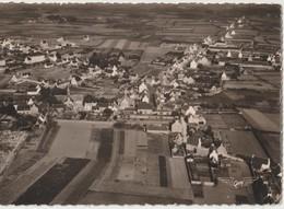 PLOZEVET ( Finistère ) La France Vue Du Ciel ...Vue Générale. Carte Semi Moderne N. Et B. Format 10 X 15 ( Carte Rare ). - Plozevet