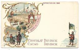 ALASKA - Exposition De 1900 - ESQUIMAUX - Chocolat DEVINCK - Etats-Unis