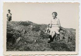 Fille Girl Pet Dog Ballade Mountain Montagne Cute Enfant Boy Composition Perspective - Persone Anonimi