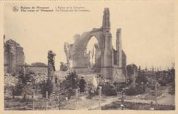 Nieuwpoort, Ruines De Nieuport, L'Eglise Et Le Ciletière (pk56421) - Nieuwpoort