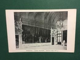 Cartolina Padova - Casa Soster - Salone Sec. XVI - 1945 - Padova