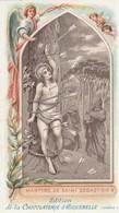 Image Religieuses : Image Pieuse : Martyre De Saint-sébastien ( Chocolaterie D'aiguebelle - Drome ) - Devotieprenten