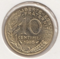 @Y@   Frankrijk   10  Centimes  1986   (4726 )   Unc - Frankreich