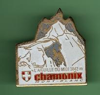 CHAMONIX - MONT BLANC - L'AIGUILLE DU MIDI 1342m *** 0052 - Villes