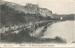 Namur. - La Meuse Aux Grands Malades.  (scan Verso) - Namur