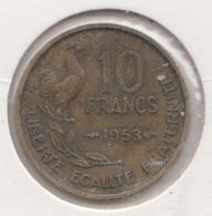 @Y@   Frankrijk   10  Centimes  1953   (4731 ) - Frankreich