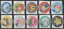 4474/4483 Smoeltjes/Frimoussen Oblit/gestp Centrale - Oblitérés