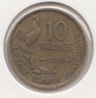 @Y@   Frankrijk   10  Centimes  1951   (4732 ) - Frankreich