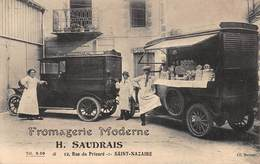CPA FROMAGERIE MODERNE - H.SAUDRAIS - 12 Rue Du Prieuré - SAINT-NAZAIRE - Saint Nazaire