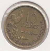 @Y@   Frankrijk   10  Centimes  1953   (4734 ) - Frankreich