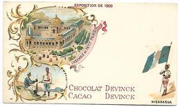 NICARAGUA - Exposition De 1900 - Chocolat DEVINCK - Nicaragua